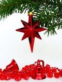 Estrella de Cristmas Fotografía de archivo