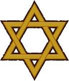 Estrella de David Imágenes de archivo libres de regalías
