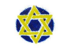 Estrella de David foto de archivo libre de regalías