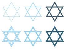 Estrella de David Imagen de archivo libre de regalías
