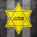 Estrella de David amarilla Fotos de archivo libres de regalías