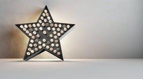Estrella de Edison Fotografía de archivo libre de regalías
