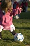 Estrella de fútbol futura Fotos de archivo libres de regalías