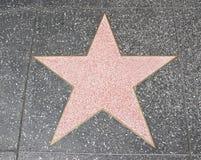 Estrella de Hollywood Imagen de archivo libre de regalías