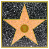 Estrella de Hollywood Fotos de archivo libres de regalías