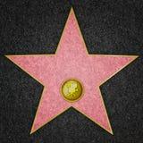 Estrella de Hollywood - actor de cine Fotos de archivo libres de regalías