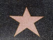 Estrella de Hollywood vacía Fotos de archivo libres de regalías