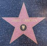 Estrella de James Cameron foto de archivo libre de regalías