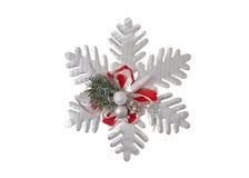 Estrella de la decoración de la Navidad fotografía de archivo