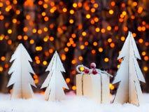 Estrella de la decoración de la Navidad Foto de archivo