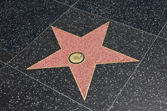 Estrella de la fama Fotos de archivo