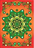 Estrella de la flor Imagenes de archivo