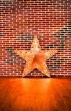 Estrella de la lámpara Imagen de archivo libre de regalías