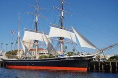 Estrella de la nave de la India en el puerto Imágenes de archivo libres de regalías