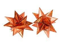 Estrella de la Navidad Fotografía de archivo