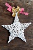 Estrella de la Navidad Fotografía de archivo libre de regalías