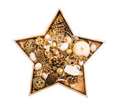 Estrella de la Navidad Foto de archivo libre de regalías