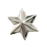 Estrella de la Navidad aislada Fotos de archivo libres de regalías