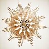 Estrella de la paja Fotografía de archivo libre de regalías