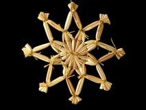 Estrella de la paja Fotografía de archivo