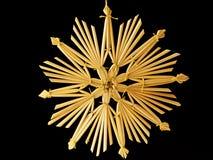 Estrella de la paja Fotos de archivo