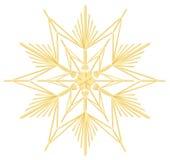 Estrella de la paja Foto de archivo libre de regalías