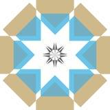 Estrella de la sabiduría ilustración del vector