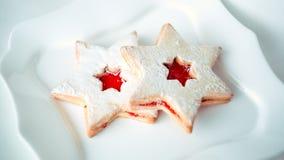 Estrella de la torta Foto de archivo libre de regalías