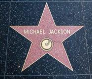 Estrella de Michael Jackson fotografía de archivo