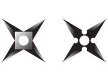 Estrella de Ninja Imágenes de archivo libres de regalías