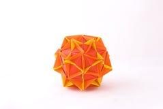 Estrella de Origami foto de archivo