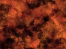 Estrella de oro en espacio. Foto de archivo