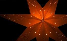 Estrella de papel fotos de archivo libres de regalías