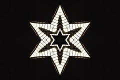 Estrella de plata Fotografía de archivo