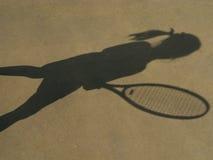 Estrella de tenis Imágenes de archivo libres de regalías
