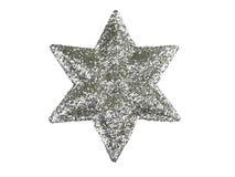 Estrella del árbol de navidad Imágenes de archivo libres de regalías