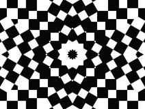 Estrella del arte de Op. Sys. de cuadrados ilustración del vector