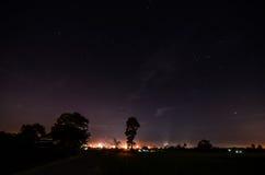 Estrella del cielo nocturno Imágenes de archivo libres de regalías