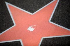 Estrella del cine Imagen de archivo libre de regalías