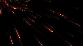 Estrella del cometa de la lluvia de la partícula inconsútil libre illustration
