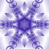 Estrella del copo de nieve Imágenes de archivo libres de regalías