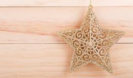 Estrella del día de fiesta Fotografía de archivo libre de regalías
