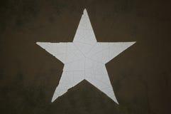 Estrella del ejército de Grunge Fotografía de archivo