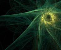 Estrella del fractal ilustración del vector