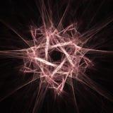 Estrella del fractal Fotografía de archivo libre de regalías