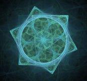 Estrella del fractal Imagen de archivo libre de regalías