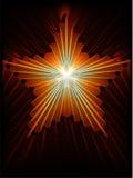 Estrella del fuego Imágenes de archivo libres de regalías