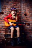 Estrella del música pop Fotos de archivo