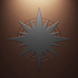 Estrella del metal Imágenes de archivo libres de regalías