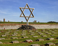 Estrella del monumento de David Fotografía de archivo